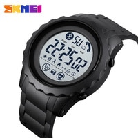 SKMEI Men's Smart Digital Watch Creative Fashion Watch 30M Waterproof Bluetooth Watch montre homme 1626