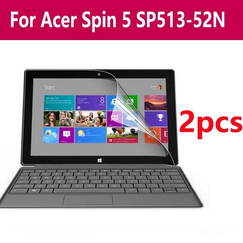 Anti-reflexo 2 pacote anti-reflexo protetor de tela hd película protetora para portátil notebook tablet pc para acer spin 5 Sp513-52n