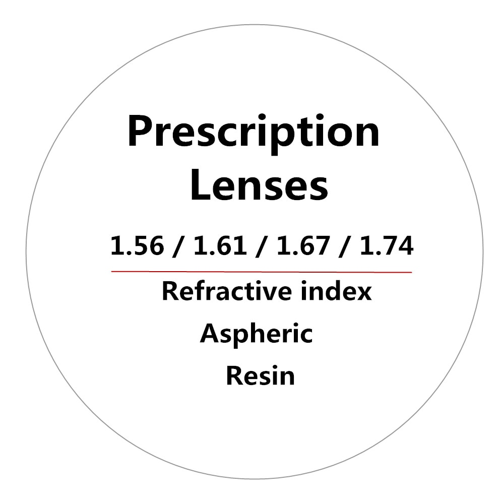 1.56/1.61/1.67/1.74 Refractive index Aspherical anti-radiation optical spectacle resin lens progressive prescription lenses