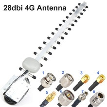 4G Antenna Yagi Antenna 28dbi 4G LTE SMA Maschio BNC TNC RP SMA Maschio All'aperto Direzionale Amplificatore di Ripetitore modem RG58 1.5m