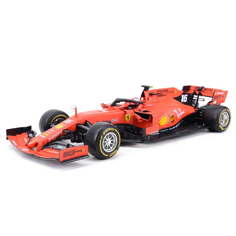 Bburago 1: 18 2019 SF90 F1 Racing #16 #05 Formel Auto Statische Simulation Diecast Legierung Modell Auto