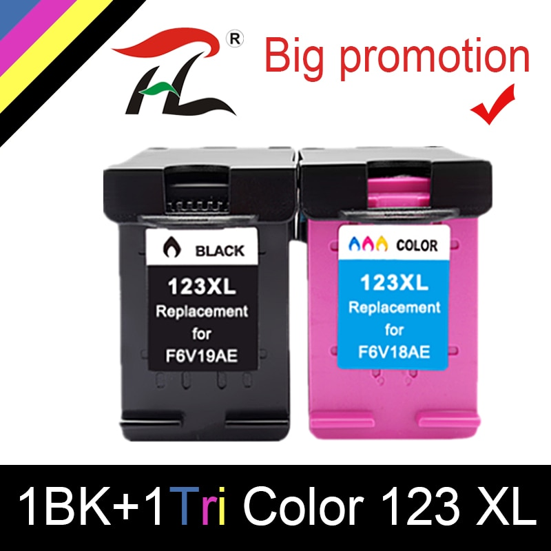 YLC Para HP123 123XL HP123XL cartucho de Tinta Compatível Para HP Deskjet 1110 2130 2132 3630 3632 4520 5010 5020 5030 printer