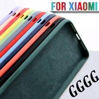 Противоударный чехол из жидкого силикона для Xiaomi Redmi Note 10 Pro 9S 10S 9 8 9A 5 6 7 Mi 10 Lite Poco X3 nfc M3 F2 Mi 10T 9T, чехол