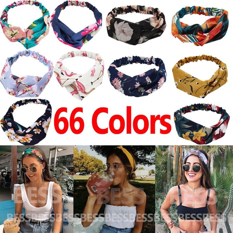 Fashion print Knot Women Headband Vintage Hairband Girls Headwear Leopard Hair Accessories  Gift