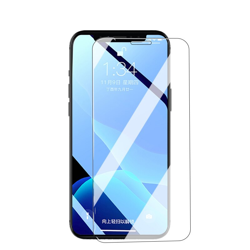 Protective Glass For iPhone 12 Pro XS Max X 12 mini XR Tempered Glass iPhone 11 Pro 6 6S 5S 7 Plus 8