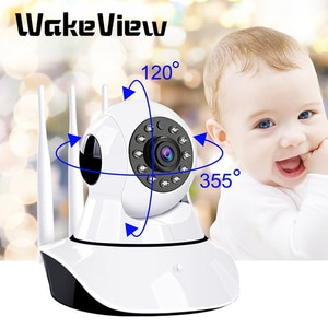 WakeView HD 1080P 2MP Home Security IP Camera Wireless  Smart PTZ Audio Video Camera CCTV WiFi Night Vision IR Baby Monitor