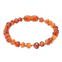 natural amber bracelet baby children diy irregular amber jewelry natural bracelets for boys girl jewelry gift for children j3