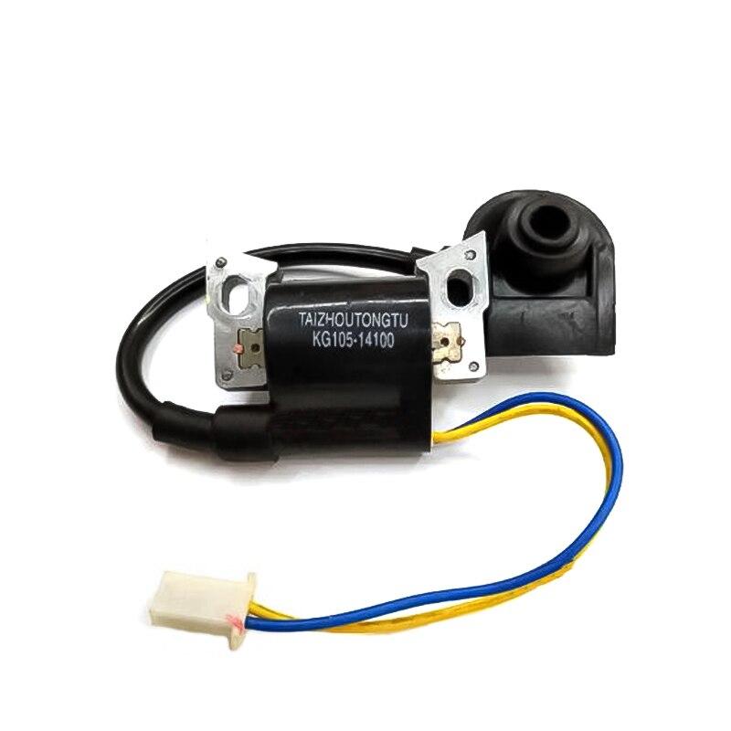 ملف الإشعال ارتفاع ضغط حزمة قطع محرك بنزين KG105-14100 KIPOR IG2000 IG2600 KGE2000TI KG158