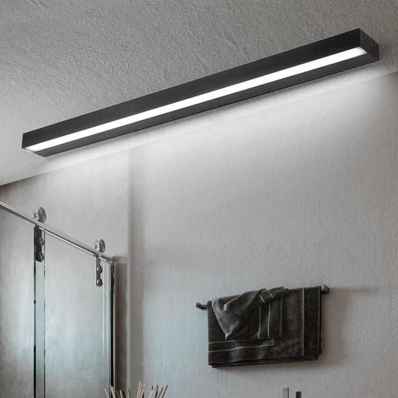 40-70CM Led luz de pared de baño de aluminio lámpara de espejo de escalera noche lámpara lámparas de gabinete de la vanidad del Iluminación del pasillo
