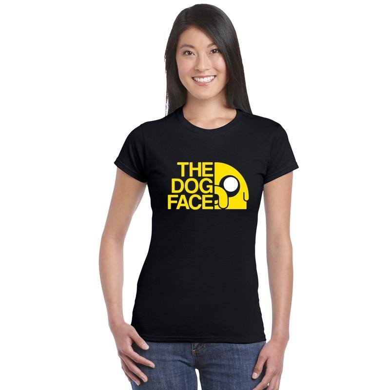 Camiseta de entrenamiento para mujer, camiseta de entrenamiento para mujer, camiseta de Finn y Jake, camiseta con la cara del perro, camisetas con letras para mujer, camiseta de animación aventura