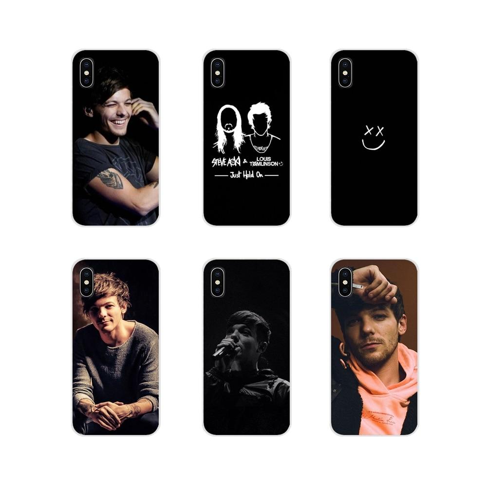 Funda de teléfono móvil One Direction Louis Tomlinson para Samsung Galaxy J1 J2 J3 J4 J5 J6 J7 J8 Plus 2018 Prime 2015 2016 2017