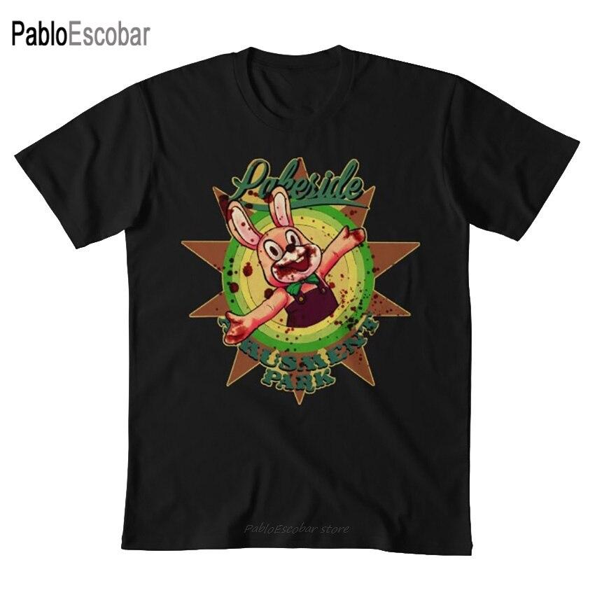 Camiseta del parque de atracciones de Lakeside (pesadilla), silent hill, secador, el conejo, sh3, videojuegos, horror