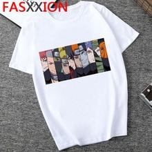 Naruto T-shirt hommes japonais Anime Streetwear Cool 2020 drôle dessin animé graphique t-shirts hommes Kawaii impression T-shirt Harajuku 90s homme