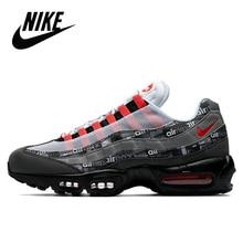 Original Nike Air Max 95 herren Laufschuhe, Outdoor Sport, Laufen, Komfortable, atmos Wir Liebe Nike Helle Crimso
