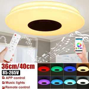 Modern RGB LED Ceiling Lights Home lighting 36W 72W APP 40CM 36CM Music Light Bedroom Lamps Smart Ceiling Lamp+Remote Control