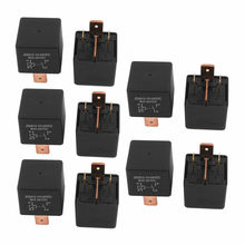DC 24V Coil 80A 4 Pins SPST Car Automotive Alarm Security Power Relay 10pcs
