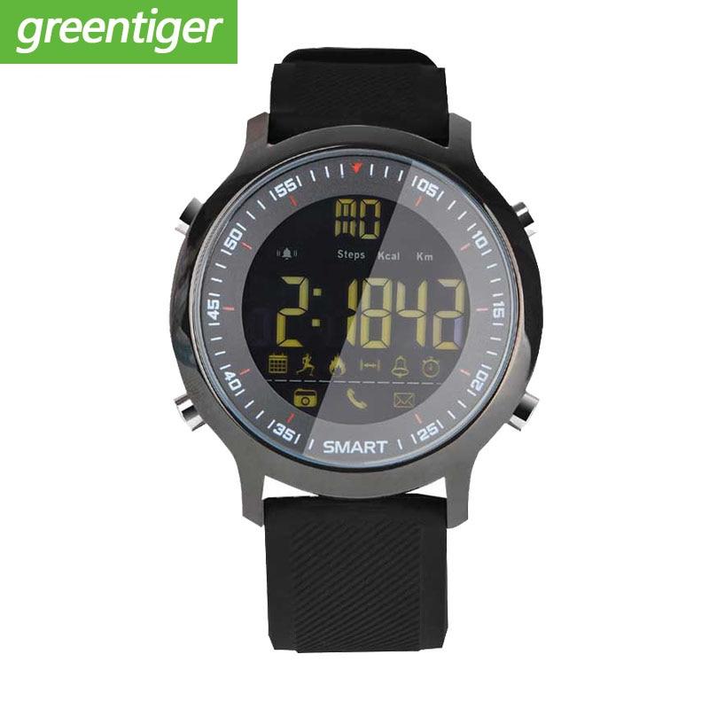 EX18 Sport Smart Watch IP68 Waterproof 5ATM Passometer Xwatch Swimming Smartwatch Bluetooth Watch for Smartphone