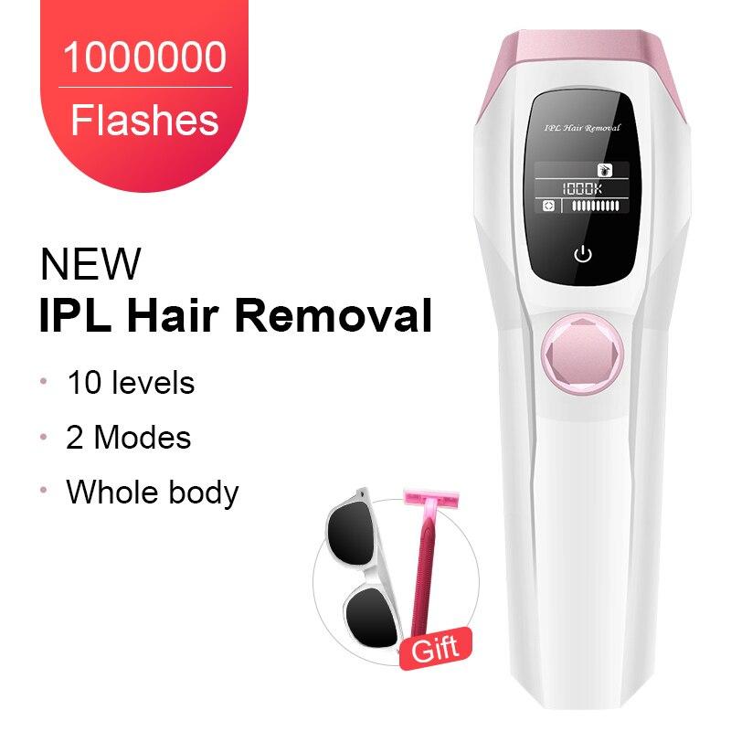 1000K Flashes Professional Permanent IPL Epilator Laser Hair Removal Painless Hair Remover Machine Bikini Trimmer Photoepilator enlarge