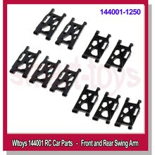 WLtoys 144001 Front Rear Lower Swing Arms for RC Car Replacements Parts Original Plastic 144001-1250