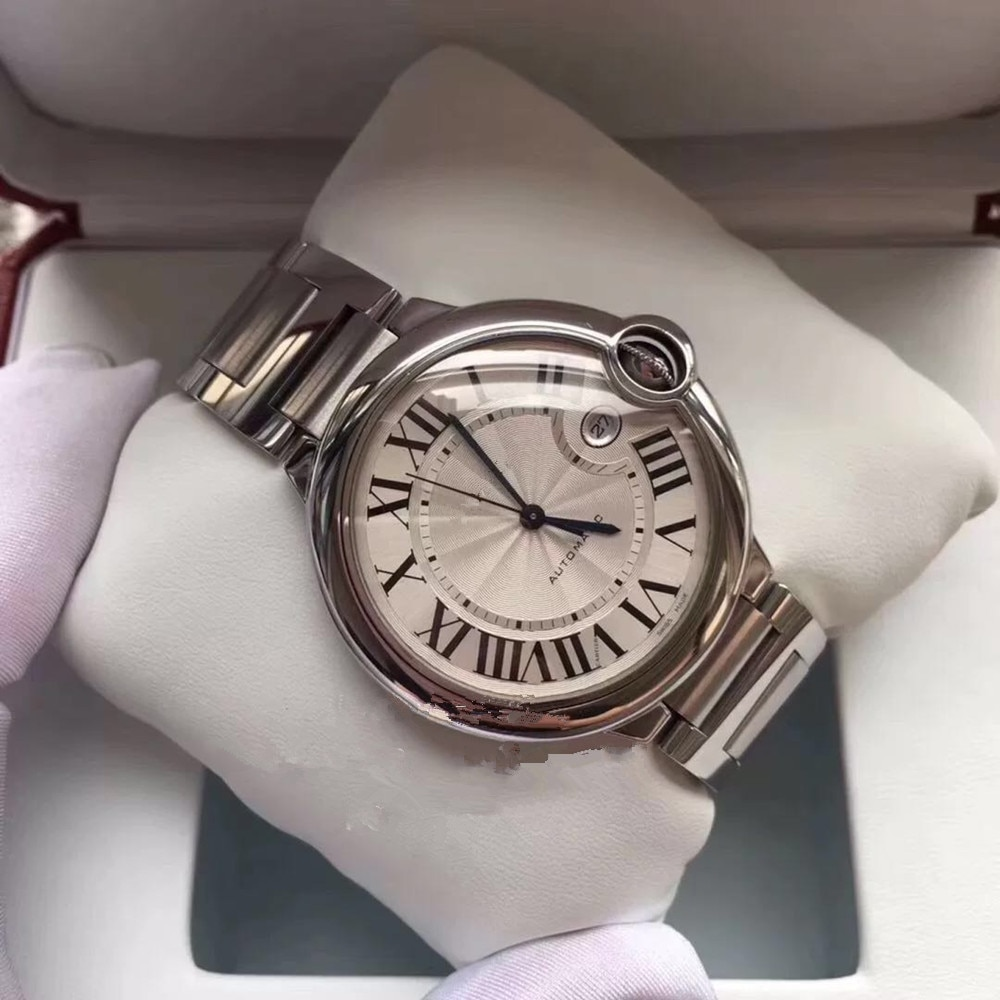 Unisex Watch Top Brand Luxury  Watch Automatic Mechanical Sports Watch Sapphire Glass All Steel Watch Retro Watch Luminous Watch