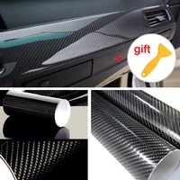 film car sticker wrap with scraper 5d glossy black speaker surfaces ultra gloss decal