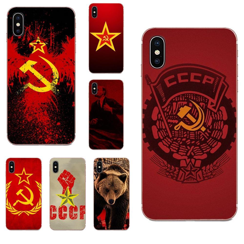 La bandera de Rusia el comunismo de Saint Basil para Huawei Honor Mate 7 7A 8 9 10 20 V8 V9 V10 V30 P40 G Lite jugar Mini Pro P inteligente