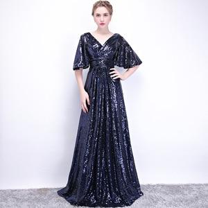 Lace Evening Dresses Long Ever Pretty  A-Line Sexy Appliques Elegant Women Evening Gowns Robe De Soiree 002