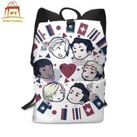 yuri on ice backpack ice boys backpacks multi purpose mens womens bag shopper trending pattern high quality teen bags