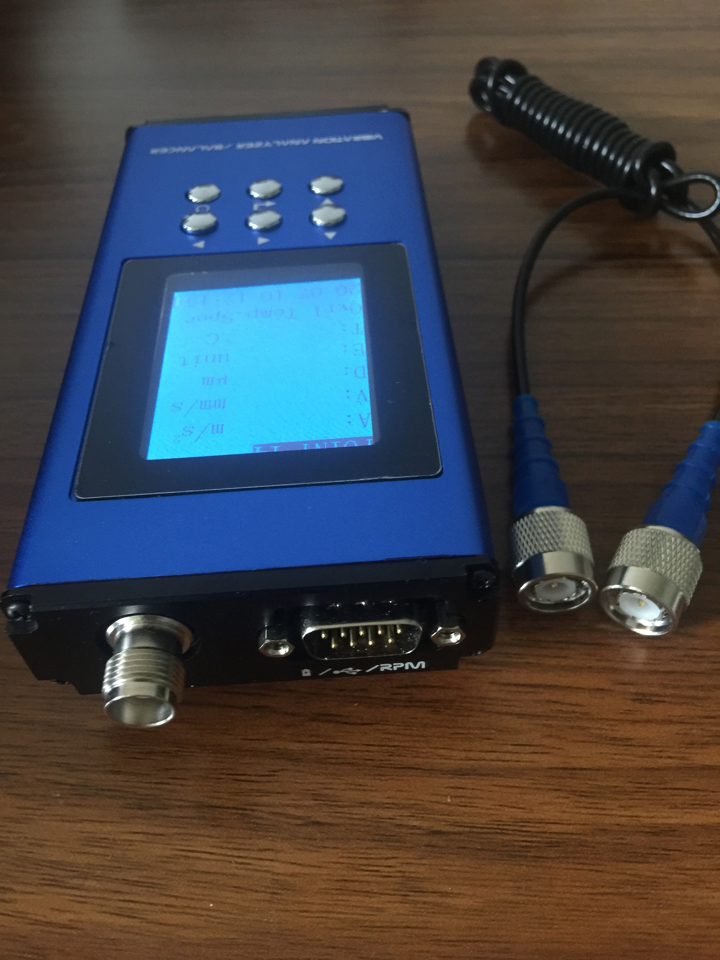 HG-911H Field Vibration Fault Analysis Data Collector enlarge