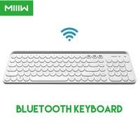 Miiiw Bluetooth Dual Mode Keyboard MWBK01 104 Keys 2.4GHz Multi Compatible Wireless Keyboard+Spain Russian Paste From Xiaomi