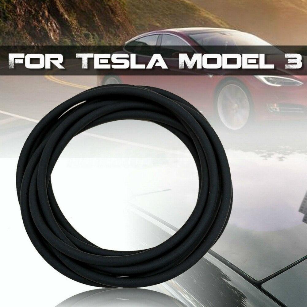 Accesorios de coche, protector de viento para techo, Kit de sellado de reducción de ruido, tira de sellado de vidrio Skylight para Tesla Model 3
