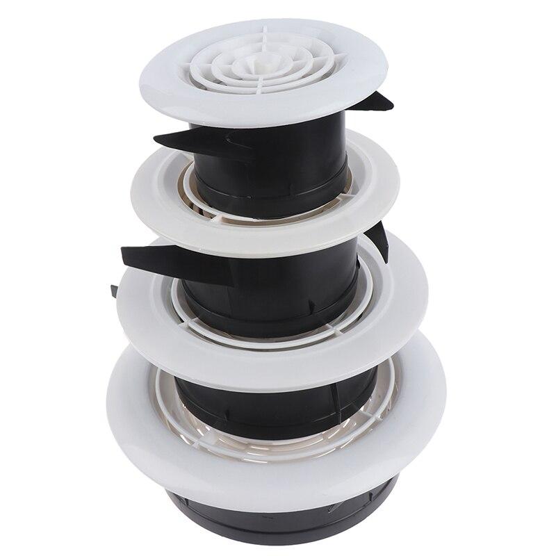 75 мм 100 мм 3% 7E8 +% 27% 27 Регулируемый вентиляция решетки решетка воздух вентиляционное отверстие круглый жалюзи решетка крышка