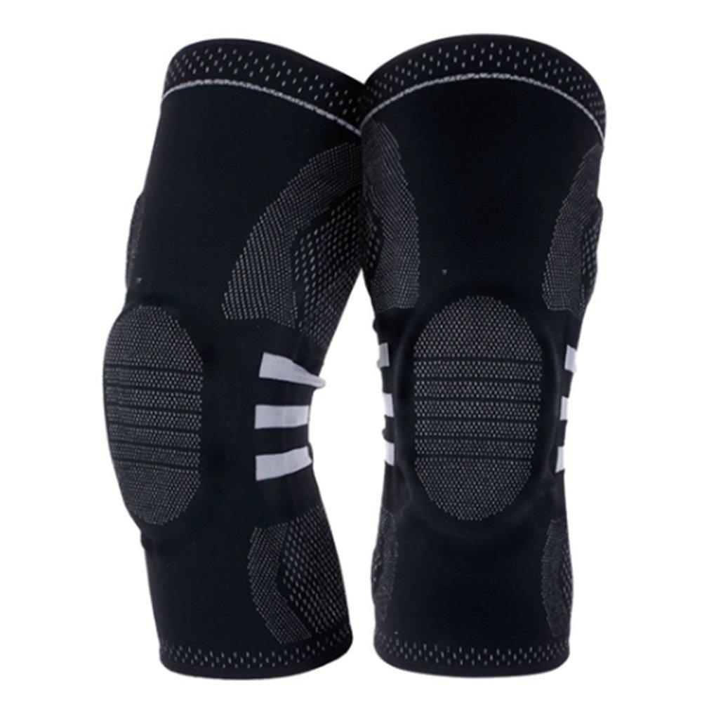 1PC Adjustable Unisex Sports Knee Pad Kneepad Knee Support Brace Wrap Protector Knee Sleeve Patella Guard L for Heavy Duty Work