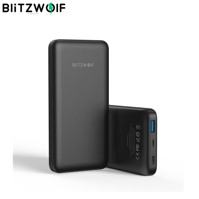 BlitzWolf BW-P9 10000 mAh - PD + QC3.0
