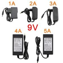 Adaptateur universel dalimentation électrique   Commutateur dalimentation, 9V 1A 2A 3A 4A 5A, pour AC DC 220V à 9V, interrupteur de chargeur