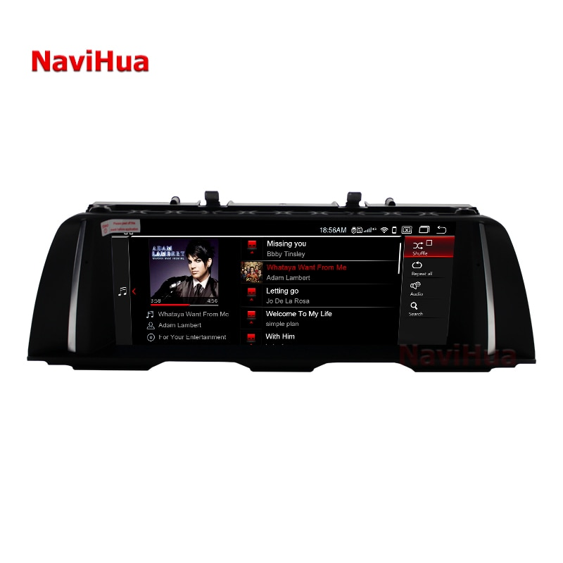 IPS Car Stereo GPS Navigation Auto audio Radio multimedia screen For BMW 5 series F10 F11(2011-2012)  Car Multimedia player
