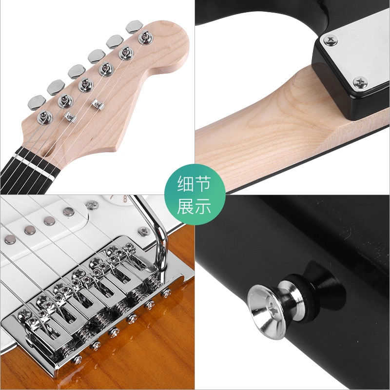 Electric Guitar Jazz Soprano  Professional Performance Basswood Guitar Rosewood Unisex Chitarra Classica Entertainment EH50G enlarge