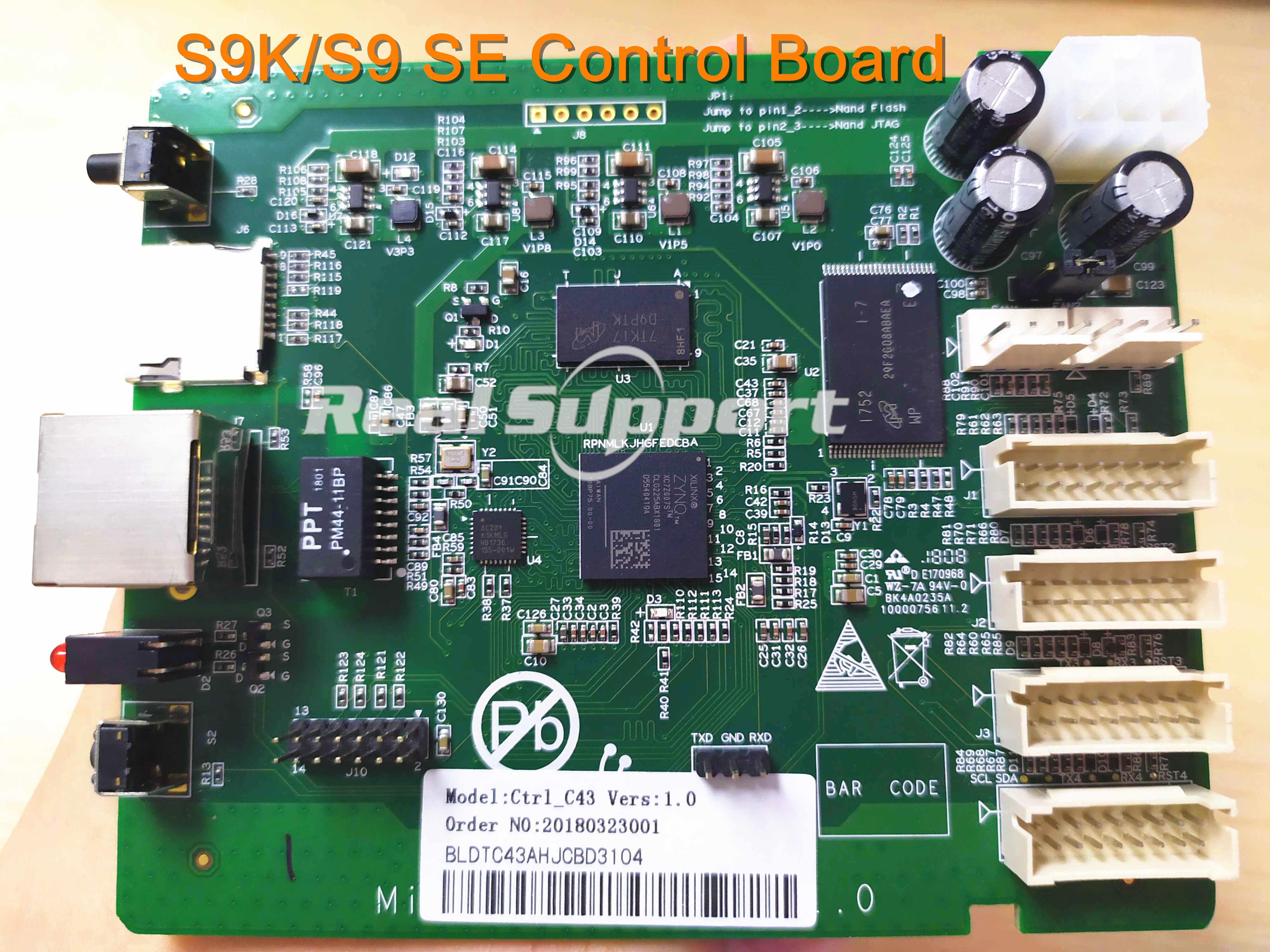 S9K/S9 SE kontrol panosu