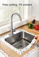 kitchen sink waterproof sticker anti mold waterproof tape bathroom countertop toilet gap self adhesive seam stickers