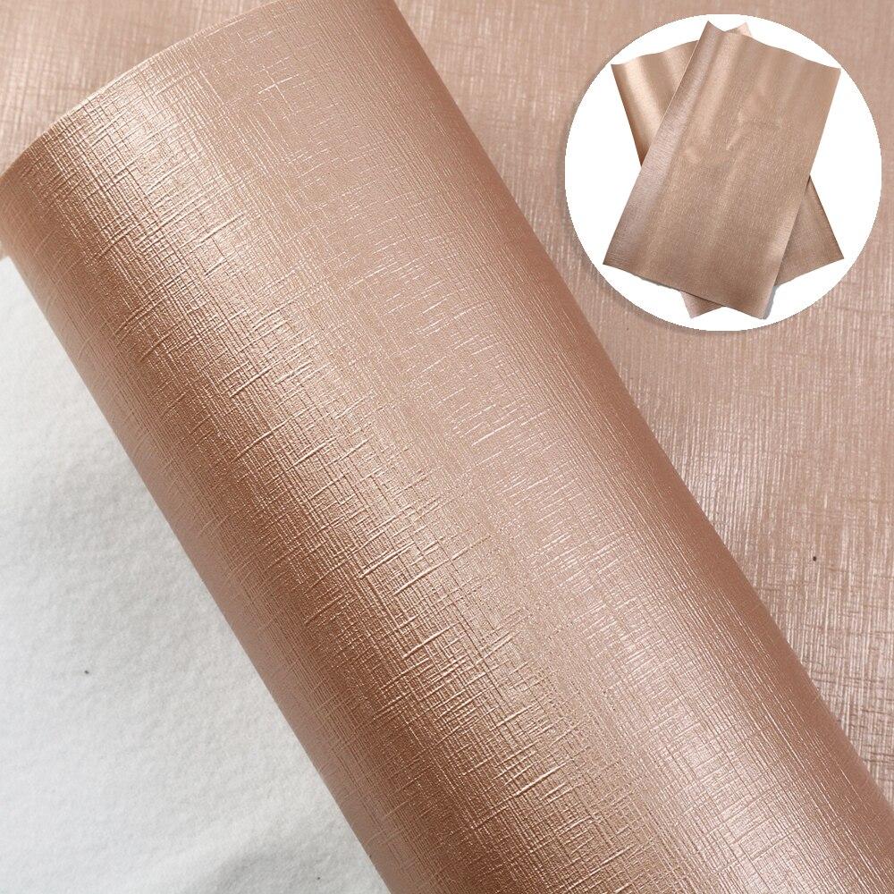 Accesorios David 20*34CM Bump Texture Plain Wood Grain piel sintética falsa tela para arcos DIY materiales hechos a mano, 1Yc10342