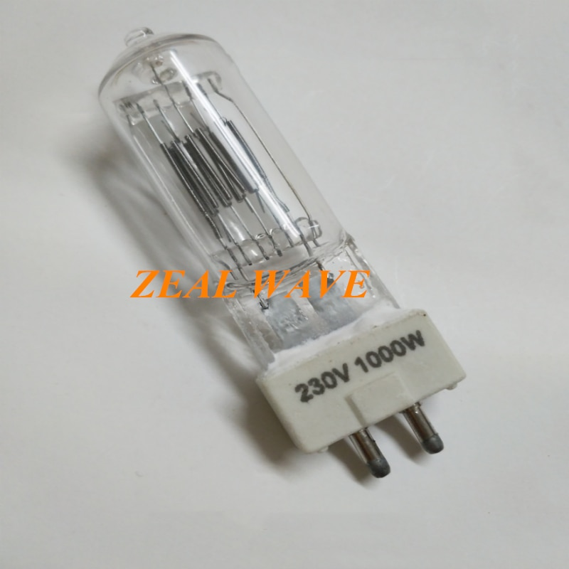 Shenniu Photography Lamp 230V1000W Bulb Quartz Lamp Ql-1000 Constant Light Lamp Studio Studio Fill Light