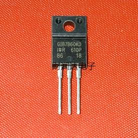 Original nuevo 5 uds/IRGIB7B60KD GIB7B60KD TO-220F