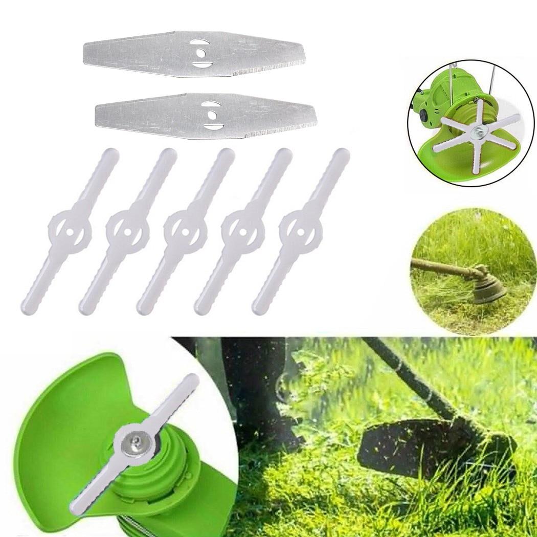 Сменные лезвия для газонокосилки, садовый триммер, стриммер, пластиковые резаки для газонокосилки, садовый инструмент