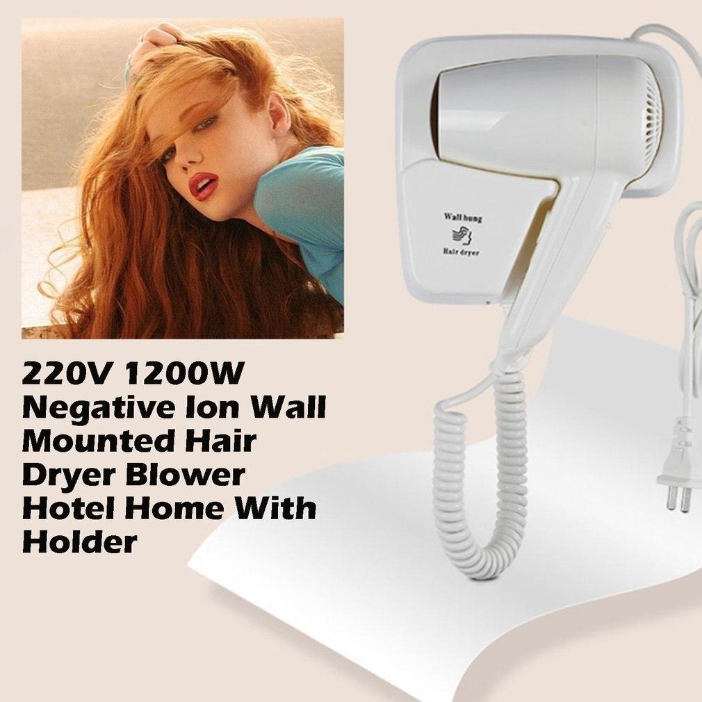 ICOCO New Wall Mount Hair Dryer Hotel bathroom home bathroom hair dryer dry skin hanging wall hanging hair dryer enlarge