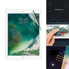 Protector de pantalla de cubierta completa de TPU LCD a prueba de explosiones para iPad 7 De 10,2 pulgadas 2019 Protector de pantalla de hidrogel Anti-rasguño