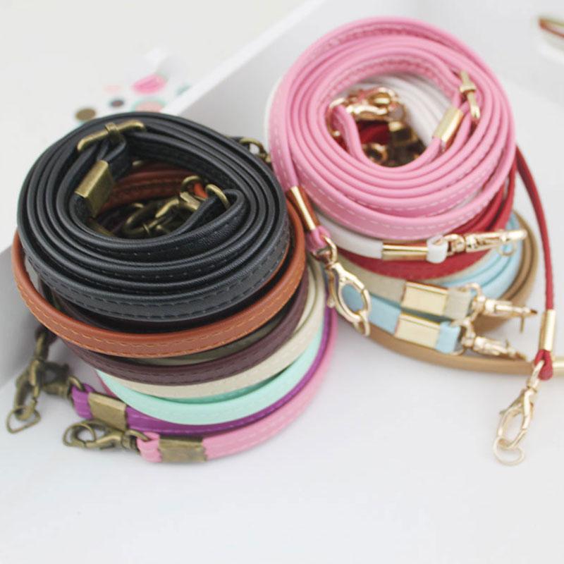 135cm Lange Frauen Tasche gurt Einstellbare Handtasche Griff PU Lederband DIY Gürtel Schulter Riemen für Tasche Zubehör Lange gürtel