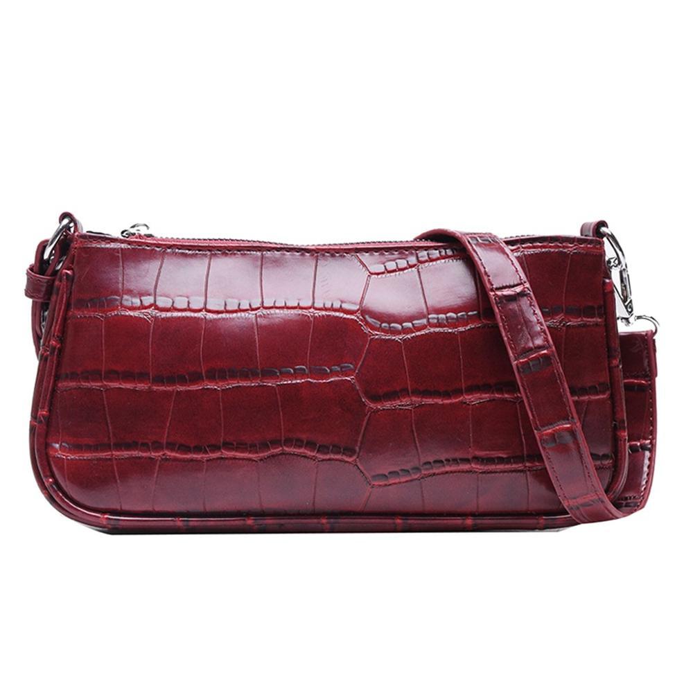 2019 nuevo bolso de mensajero de otoño, bolsos de hombro de cuero de PU, bolsos salvajes, bolso de mujer, marcas de lujo