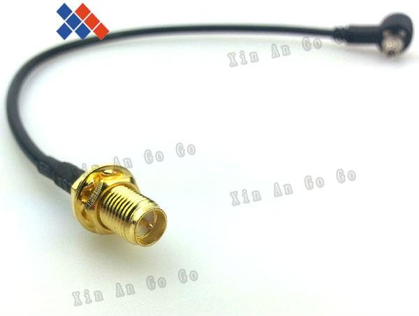 10 قطعة RP-SMA أنثى (دبوس) إلى CRC9 موصل لهواوي 3 جرام USB مودم 15 سنتيمتر