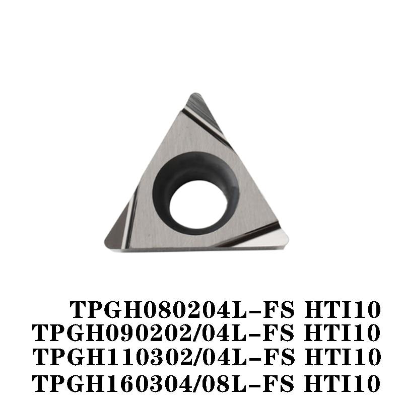 100% الأصلي TPGH TPGH080204L FS HTI10 TPGH090204L TPGH110302L 110304L 160304L 160308L FS عالية آلة خرط تعمل بالتحكم الرقمي بواسطة الحاسوب الإدراج