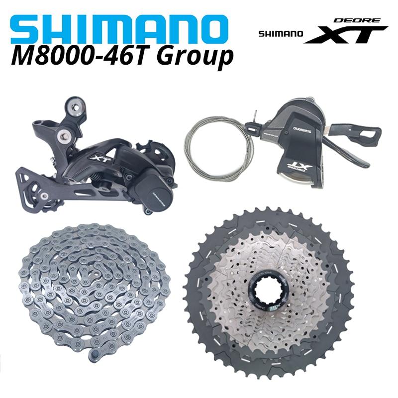 SHIMANO-palanca de cambios DEORE XT M8000 1x11 desviadores de velocidad Grupo 11...